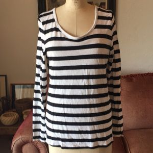 lou and gray striped longsleeve T-shirt
